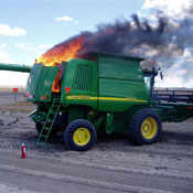Prevent Farm Equipment Fires Through Safe Fueling